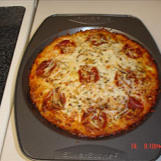Impossibly Easy Pizza Pie