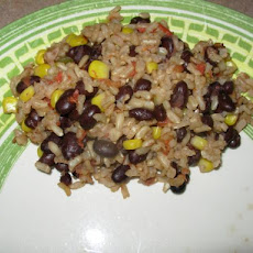 Rice and Black Beans (Rice Cooker)