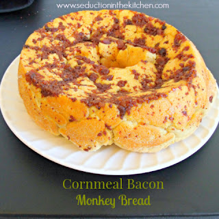 Cornmeal Bacon Monkey Bread