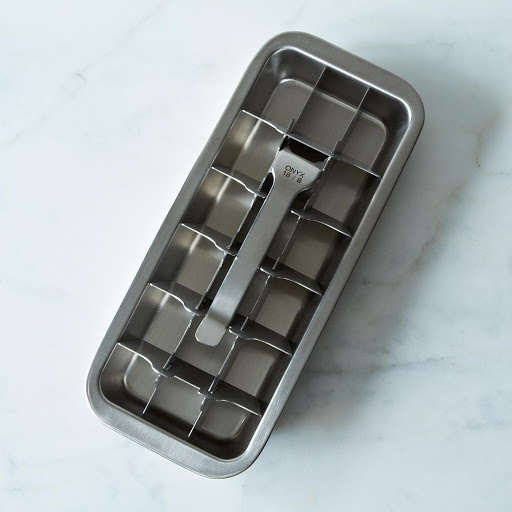Onyx 18/8 Stainless Steel Ice Cube Tray