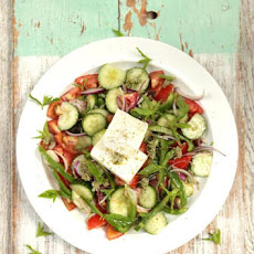 Gorgeous Greek salad