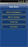 Screenshot of Megabus USA