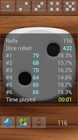 Screenshot of Playing Dice