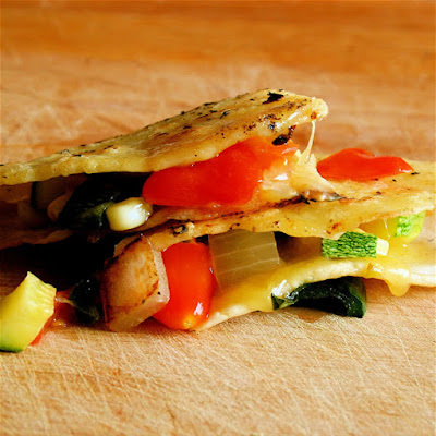 Farmers' Market Quesadillas