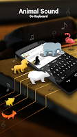 Screenshot of GO Keyboard Animal Sounds Pack