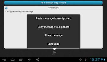 Screenshot of Encryption (Krypto)