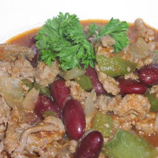 Seven Ingredient Turkey Chili