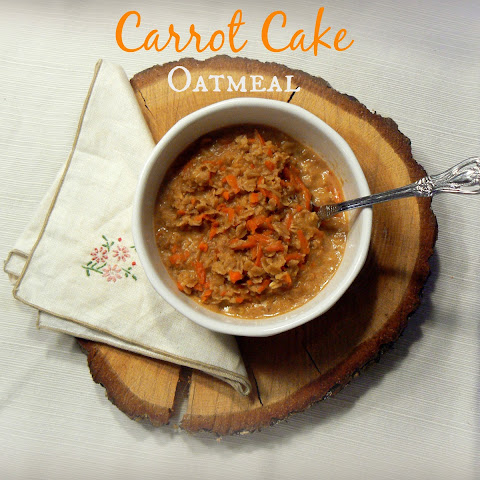 Sunday Breakfast - Carrot Cake Oatmeal