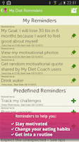 Screenshot of My Diet Coach - Pro