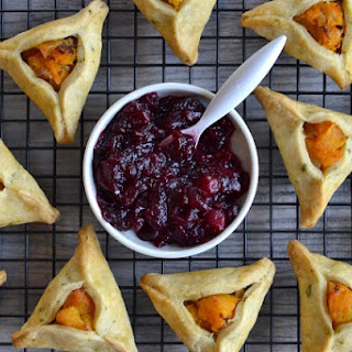 Thanksgiving Inspired Savory Hamantaschen