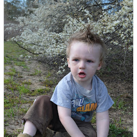 Wild Child by Kristen Dustin - Babies & Children Toddlers ( happy, dirty, fun, toddler, outside )