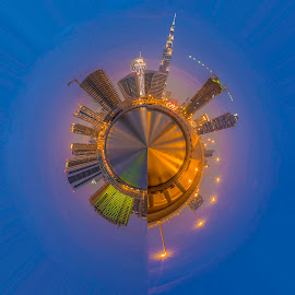 Little Planet by Andy Arciga - Buildings & Architecture Other Exteriors ( canon, canon 6d, night photography, canon 17-40 f4l,  )