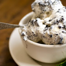 Mint chocolate cookies and cream ice cream
