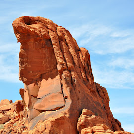 Valley of fire, Nevada by Janice Burnett - Landscapes Caves & Formations ( red, nature, nevada, outdoors, rock, formation )
