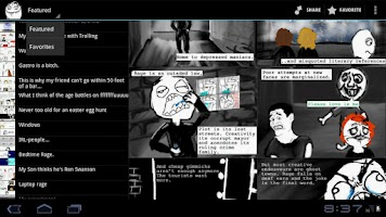 Screenshot of RageSwipe - Rage Comics Reader