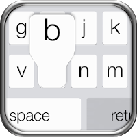 Screenshot of iPhone 5s Keyboard iOS 7