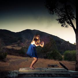 sparkle by Branden de Haas - Digital Art People ( concept, model, woman, art, fine art, beauty, conceptual )