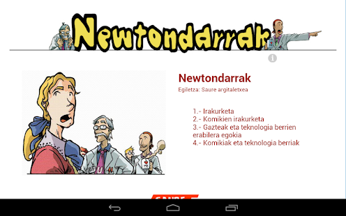 Newtondarrak - screenshot