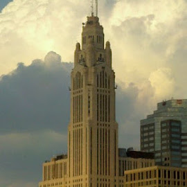 Towering above by Evan Burleson - Buildings & Architecture Office Buildings & Hotels