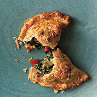 Savory Sausage, Spinach, and Onion Turnovers