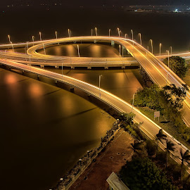 Macau Friendship Bridge by Paris Legaspi - Buildings & Architecture Bridges & Suspended Structures