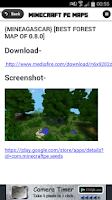 Screenshot of Maps - Minecraft PE