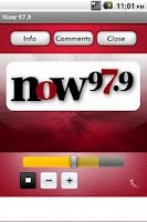 Screenshot of Now 97.9