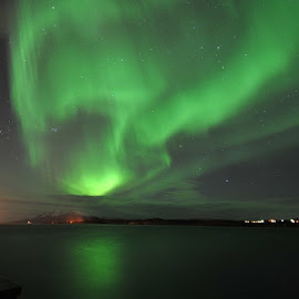 by Trond Svendsen - Landscapes Weather ( auroraborealis, northernlights, nordlyset )