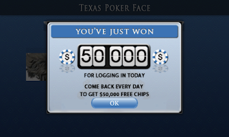 Screenshot of Texas Poker Face