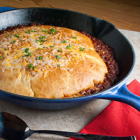Sloppy Joe Pot Pie