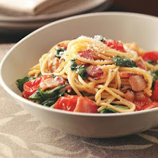 Bacon & Tomato Spaghetti Recipe