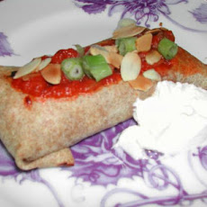Vegetarian Baked Chimichangas