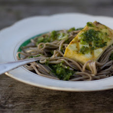 Grilled Tofu and Soba Noodles