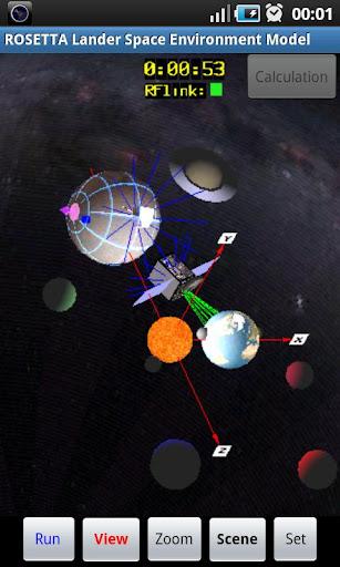 SunTracker for Rosetta Lander