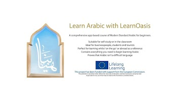 Screenshot of Learn Arabic with LearnOasis