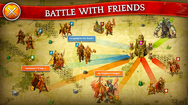 Kings Of The Realm - MMORTS APK screenshot thumbnail 5