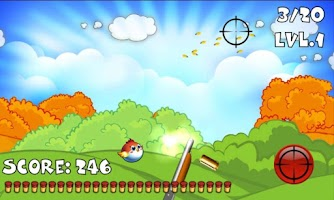 Screenshot of Tiny Bird Hunting