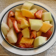 Summer Melon Mix & Berry Honey Dressing