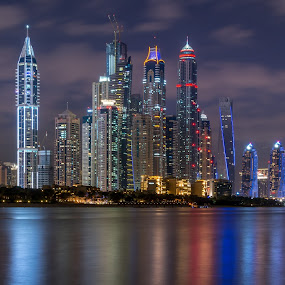 Dubai Marina by Walid Ahmad - Buildings & Architecture Office Buildings & Hotels ( dubai, d800, camera, uae, marina, nikon, photography )