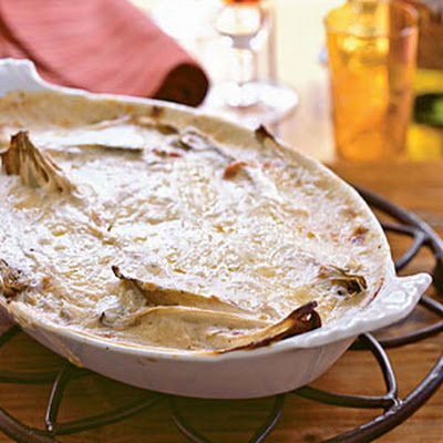 Gratin of Belgian Endive with Bacon (Gratin d'Endives Ardennaise)