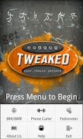 Screenshot of Get Tweaked Fitness Free App