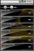 Screenshot of Taxi Metre