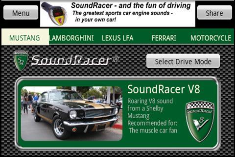 SoundRacer FREE Car Sounds