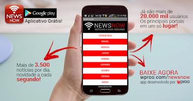 Screenshot of Newsnow Notícias GLOBO G1 R7