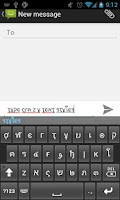Screenshot of Text Styler Keyboard - Crazy