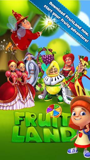 Fruit Land match 3 for VK - screenshot