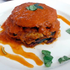Eggplant Parmigiana Without the Parmigiana!
