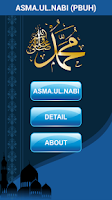 Screenshot of Asma ul Nabi (Muhammad Names)