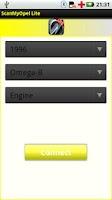Screenshot of ScanMyOpel Lite