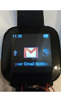 Screenshot of poor Gmail Notifier